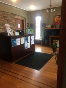 Absolute Health Front Desk and Reception