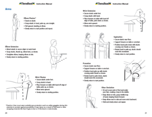 Theraband Exercise Information for Patients and Consumers Page 20-21 Arm Exercises