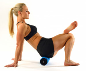 Travel Roller Exercises - Hips & Glutes