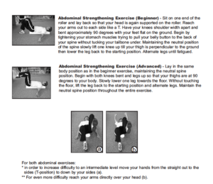 fitterfirst Foam Roller Exercises Page 2